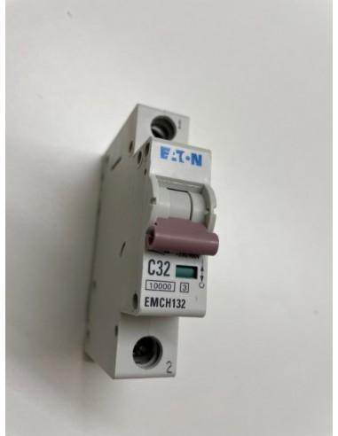 Eaton EMCH132 C32amp 1 Pole Mcb Breaker 10ka