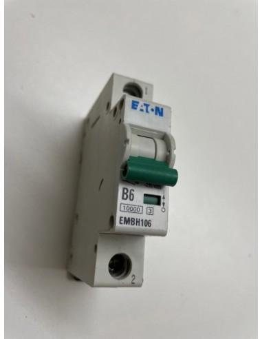 Eaton EMBH106 B6amp 1 Pole Mcb Breaker 10ka