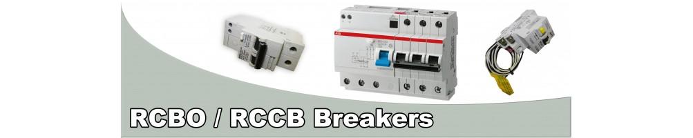 RCBO / RCCB Breakers