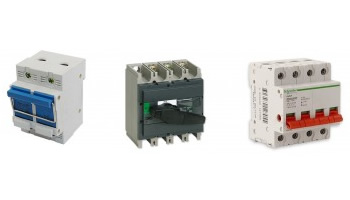 Main Disconnection switches